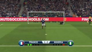 pro evolution soccer 2015 france nigeria coupe internationale