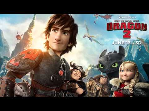 How to Train Your Dragon 2 - Trailer #3 Music #2 (Thirty Seconds to Mars - Kings and Queens) - HD