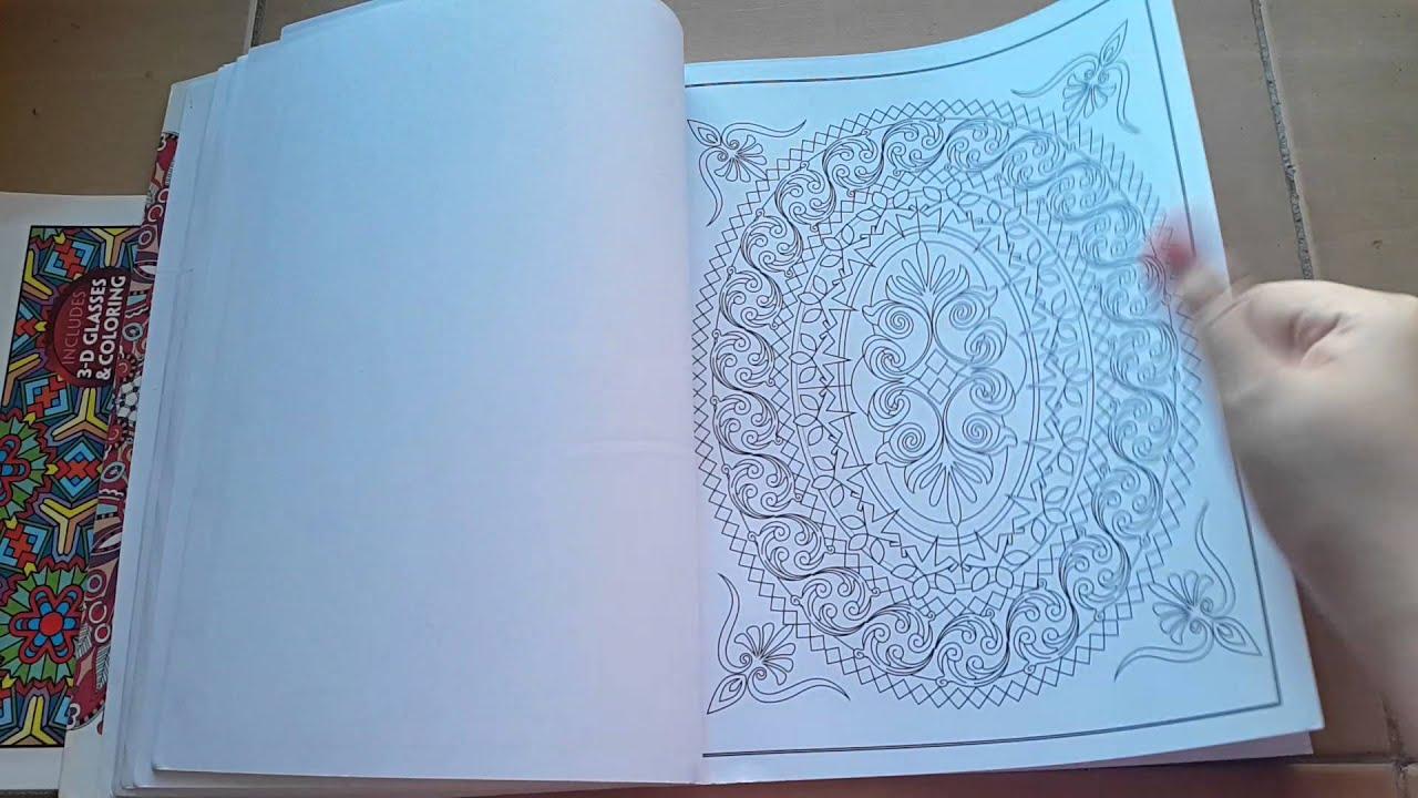 Creative Minds Mandalas Adult Coloring Book Flip-t - YouTube f9766ffea19