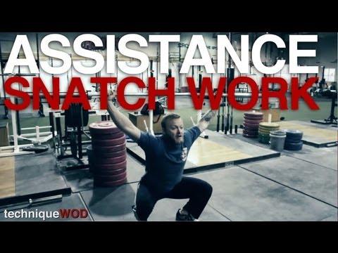 Drop Snatch, Snatch Balance, and Heaving Snatch Balance for CrossFit - Technique WOD