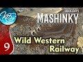 Mashinky Ep 9: WILD WESTERN RAILWAY - 4th Era HARD MODE! - Let's Play, Gameplay