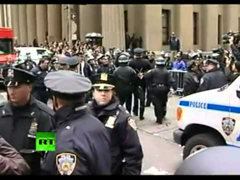 OWS Occupy Wall Street Video NYPD Arrest Philly Police Retired Captain Raymond Lewis