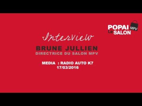 SALON MPV : Interview Auto K7 - Brune Jullien