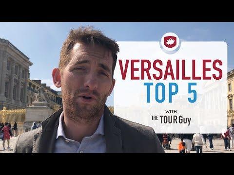Top 5 things to see in Versailles