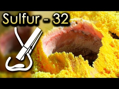 Sulfur  - The SMELLIEST Element ON EARTH!