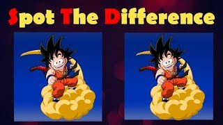 find the difference dragon ball z |photo puzzle #1|spot the difference in 15 sec