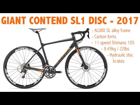 501503bb3e9 Giant Contend SL1 Disc Review - YouTube