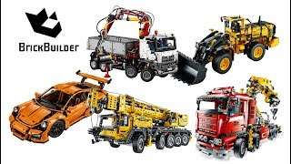 Top 5 Lego Technic Of All Time - Lego Speed Build For Collectors