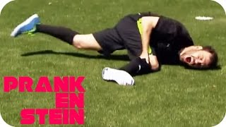 Football Prank electroshocking terribly gone wrong | PRANKENSTEIN