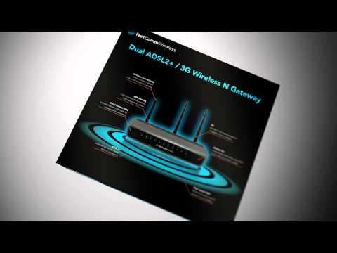 NetComm Wireless Consumer packaging