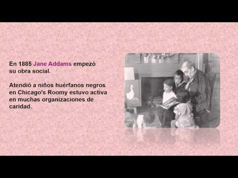 MUJER PACIFISTA JANE ADDAMS