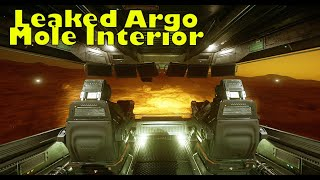 Star Citizen 3.8 | Leaked Argo Mole Interior!