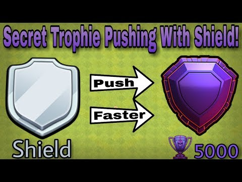 Learn How SHIELD Can Help You To PUSH 5000 TROPHIES In FASTEST Way! | Clash Of Clans