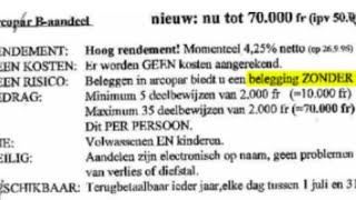 Premier Michel wil deze week eindelijk Arco-deal: hoeveel hoesten Belfius en Beweging.net...