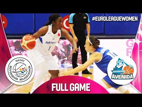 Hatay BB v Perfumerias Avenida - Full Game - EuroLeague Women 2018-19