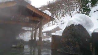 Takaragawa Onsen in the snow. Tokyo. Japan. Traveling with Jan