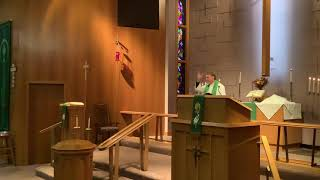 19th Sunday after Pentecost, Good Shepherd Lutheran Church. LC-MS, Two Rivers, WI, Rev William Kilps