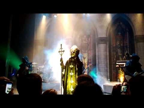Ghost - Infestissumam, Per Aspera Ad Inferi, Con Clavi Con Dio and Stand By Him live HD (with intro)