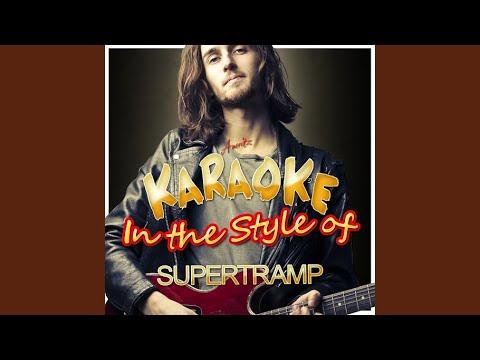 Lover Boy (In the Style of Supertramp) (Karaoke Version)