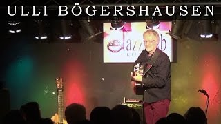 Ulli Boegershausen plays SUNRISE (composed by Norah Jones) - live Jan. 31.2014