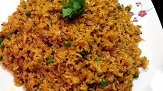 Spicy Masala Cabbage Rice