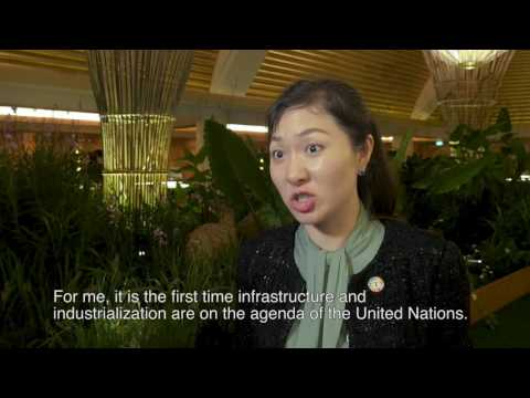 Ecosperity 2017: UN Goodwill Ambassador Helen Hai, UNIDO, on the SDGs