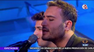 Video Reik - Ya Me Entere - presenta en Primero Noticias Des Amor - Primero Noticias Noticieros Televisa download MP3, 3GP, MP4, WEBM, AVI, FLV November 2017