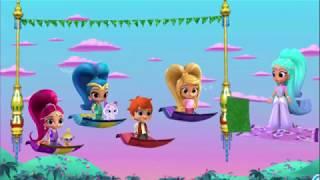 Шиммер и Шайн джины чудес Мультик игра для девочек