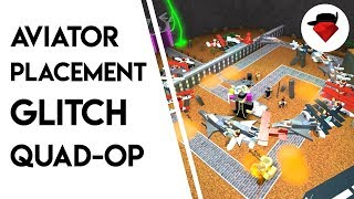 Quad-Op But With the Aviator Placement Glitch | Tower Battles [ROBLOX]