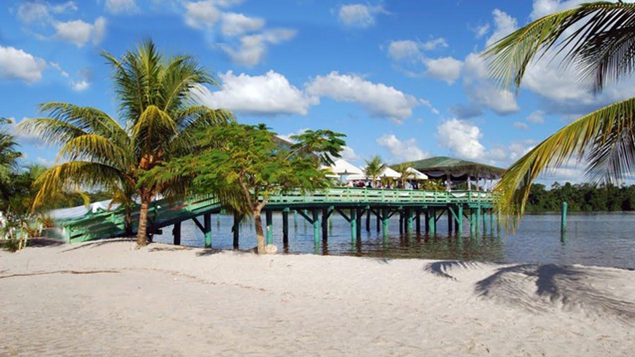 White Beach Santigron Onverwacht Colakreek Suriname