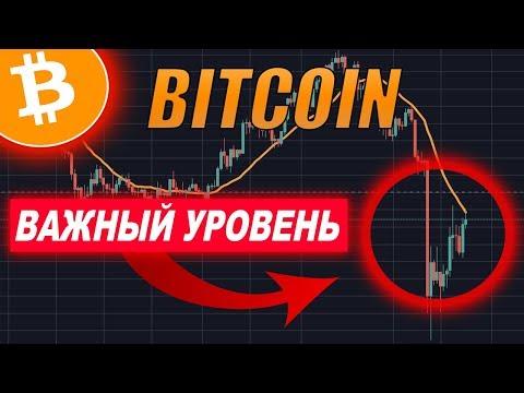 Криптовалюта Биткоин Прогноз   ВАЖНЫЙ Bitcoin УРОВЕНЬ!