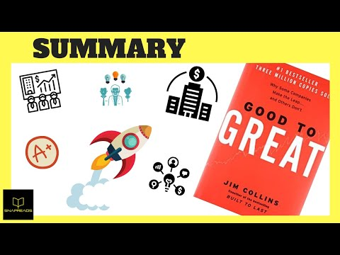 Good To Great by Jim Collins | Animated Book Review
