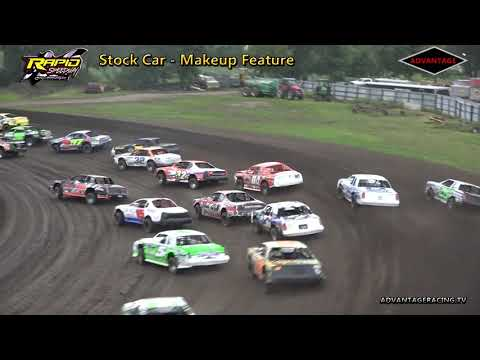 Stock Car Makeup Feature - Rapid Speedway - 8/30/18