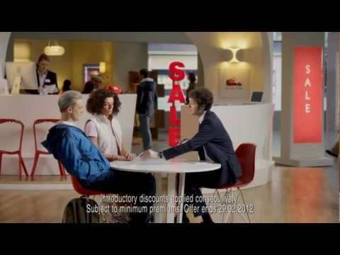 Banned | 2012 Home TV Advert |  Chris Addison, Doon Mackichan and Darren Boyd | Direct Line