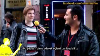 Yabancı Erkeklere Türk Kızlarını Sormak-Sarı Mikrofon