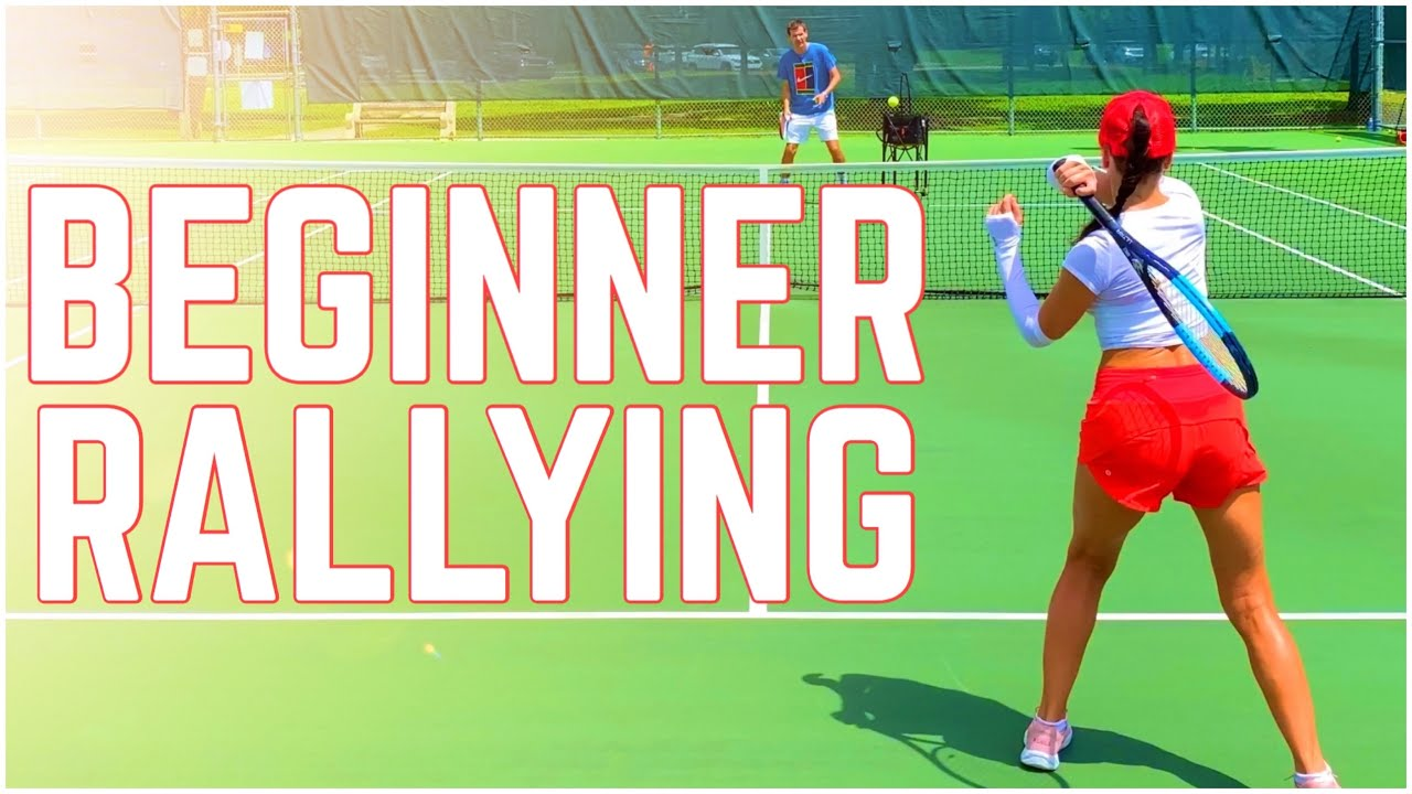 Beginner Tennis Rally Lesson | How to Keep The Ball in Play