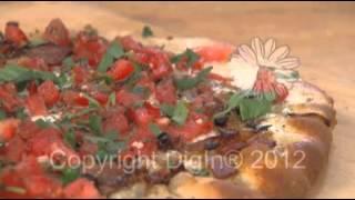 Bacon, Gorgonzola & Caramelized Onion Pizza