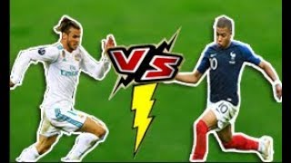 Kylian Mbappe Vs Gareth Bale - Amazing Speed Show  2018 -- HD