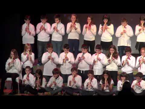 Concert de Nadal - Escola Espai 3 (4t, 5è i 6è de primària)