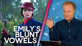 Etiquette expert reviews Emily Blunt's accent in Mary Poppins Returns