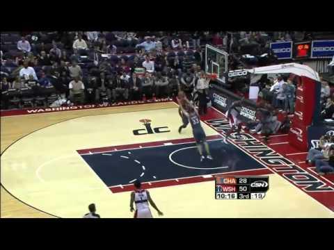 Tyrus Thomas 9 blocks against Wizards (25.01.2012)