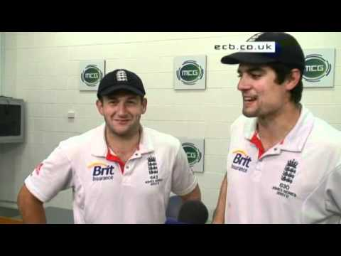 Ashes - Exclusive interview with Bresnan and Cook after MCG win
