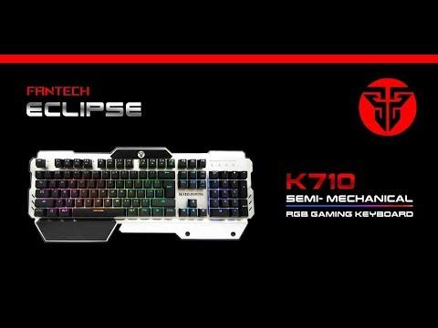 1d6ad6590e5 Fantech K610 Zexter Metal Backlit Membrane Gaming Keyboard by ...