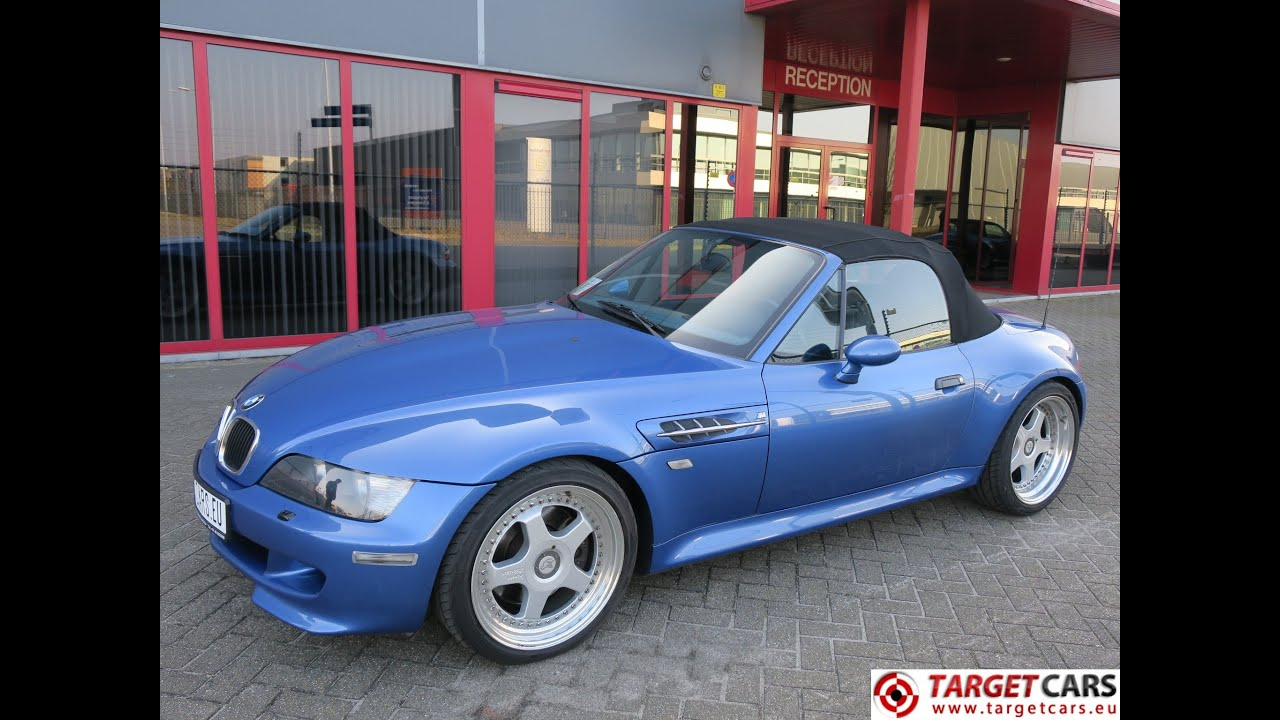 750350 bmw z3m cabrio 3 2l 321hp s50 m roadster 02 99 blue. Black Bedroom Furniture Sets. Home Design Ideas