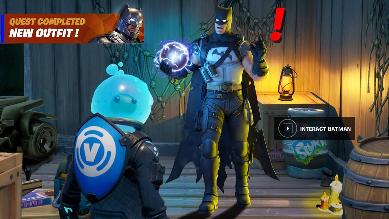 Fortnite Batman Reward
