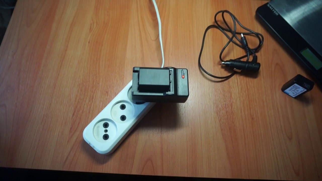 Зарядное Устройство аналог Sony AC-L100 - YouTube