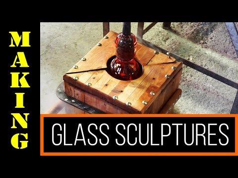 Glass Sculptures Murano #1 - glassblowing