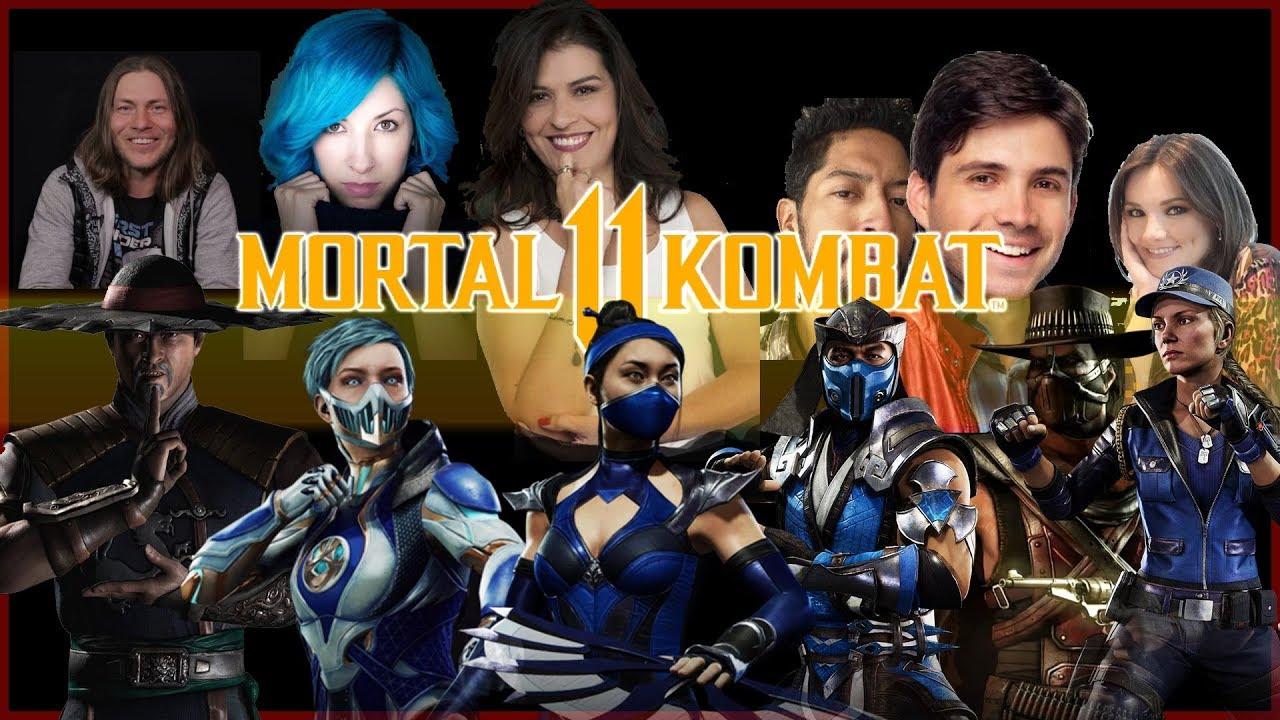MORTAL KOMBAT 11 - Conoce los Actores detras de las Voces