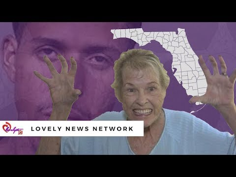 Ratchet FL~ Grandmother pops out teeth to scare a nude man off her back porch🍆😂