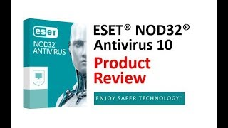 ESET NOD32 Antivirus Review - PC Security
